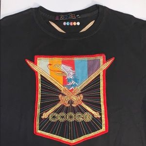 All Embroidered Coogi T-Shirt